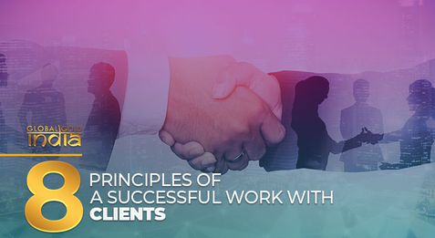 8 principles of a successful work with clients